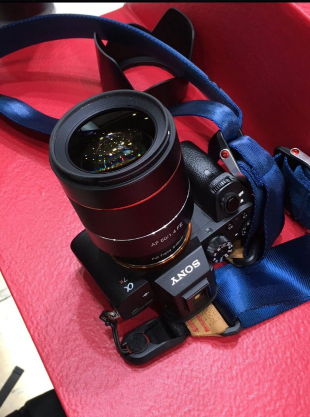 samyang af 50 f 1.4 fe lens 1