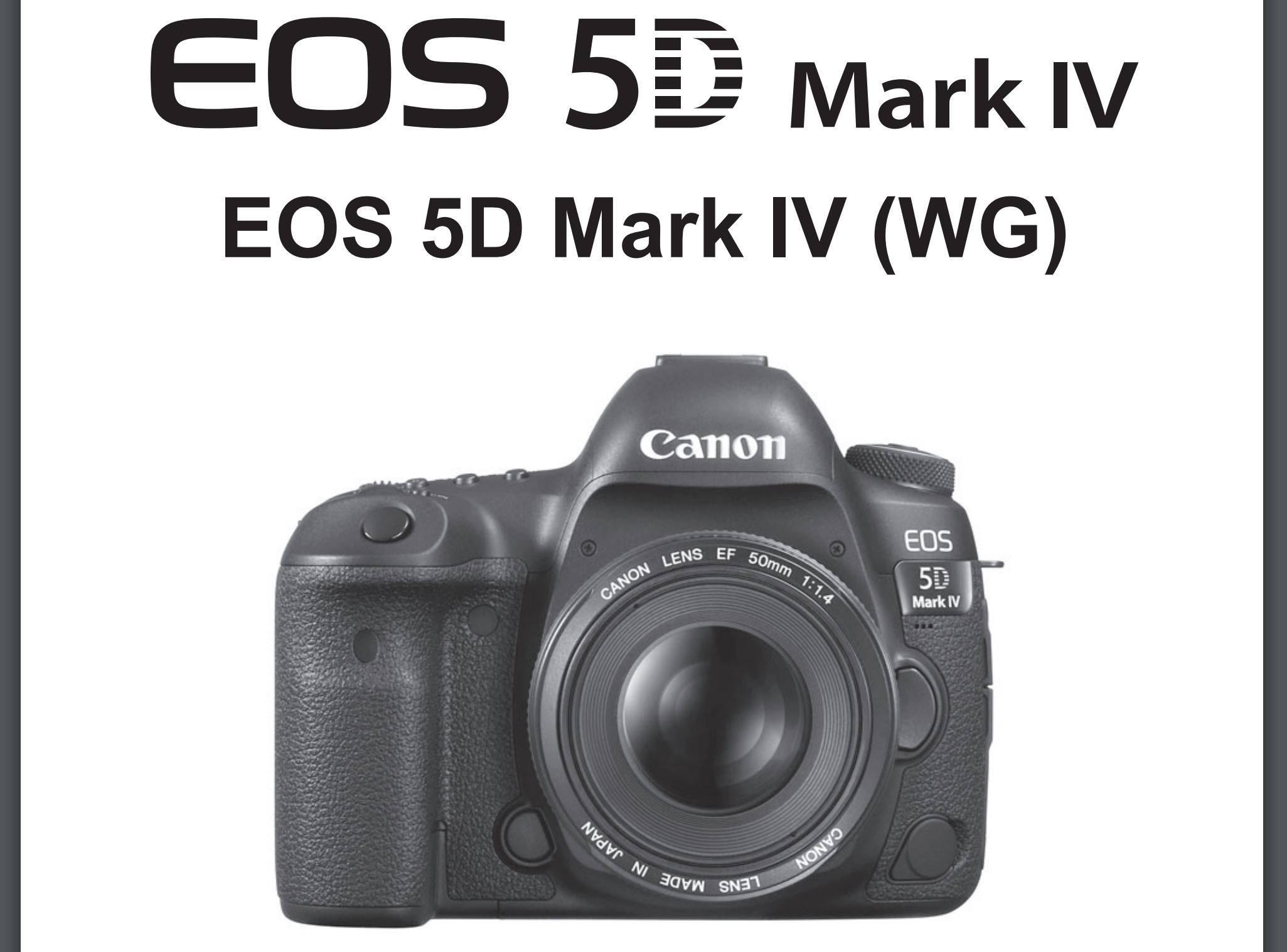 canon eos 5d mark iv instruction manual now available for download rh cameraegg org canon 5d mark 2 operating manual canon 5d mark ii user manual download