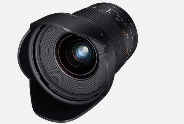 samyang 20mm f 1.8 ed as umc lens
