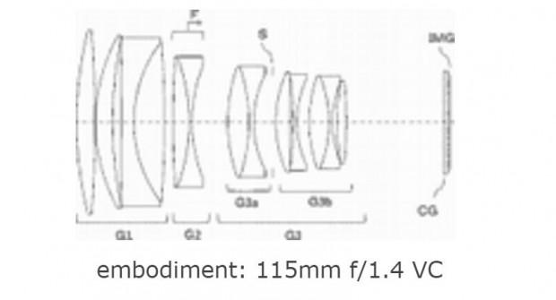 tamron 115mm f 1.4 lens