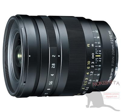 tokina FiRIN 20mm f 2 fe mf lens