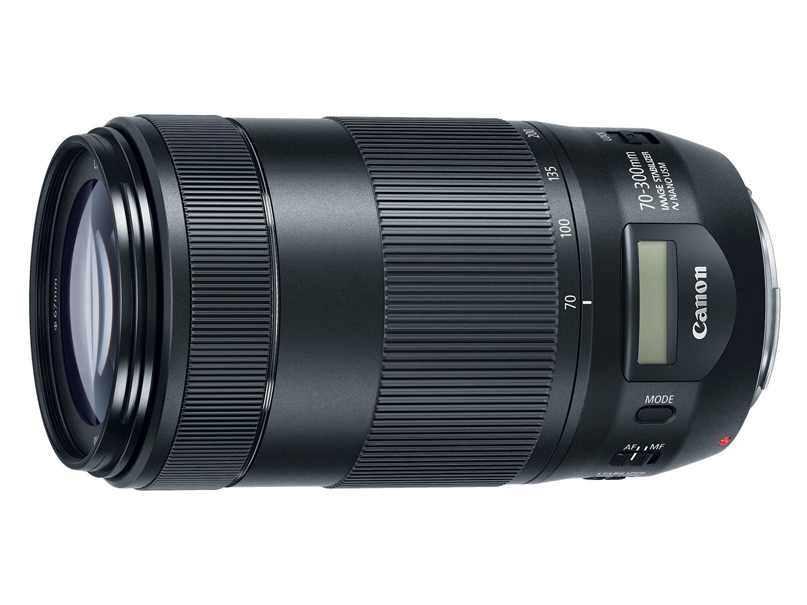 ef 70 300mm f 4 5 6 is ii usm lens announced price 549. Black Bedroom Furniture Sets. Home Design Ideas