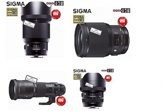 sigma new three lenses