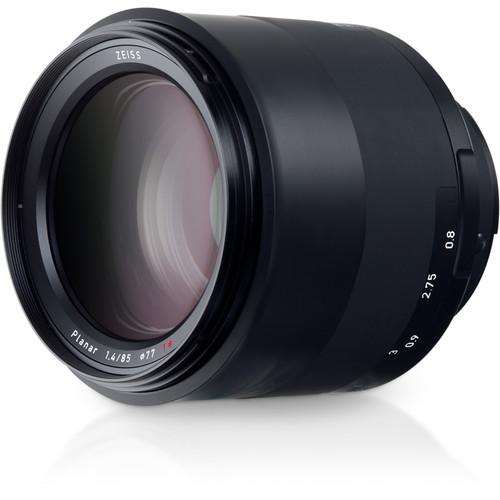 zeiss milvus 85mm f 1.4 lens