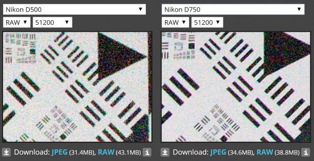 d500 vs d750 iso 51200 1