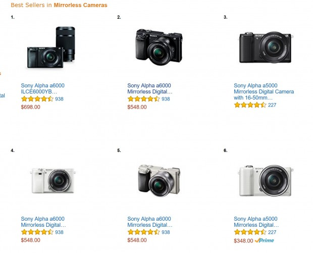 sony a6000 best amazon