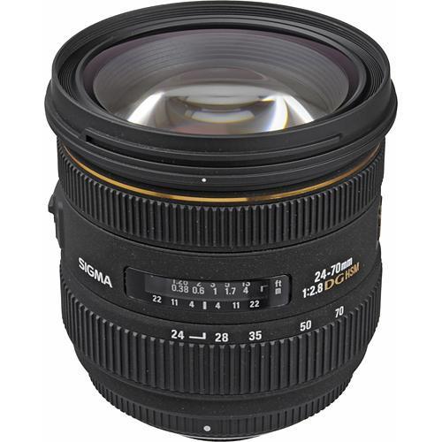 Sigma 24-70mm f 2.8 lens