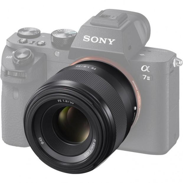 sony fe 50mm f 1.8 lens