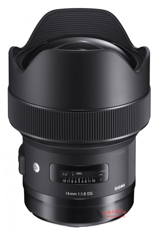 sigma 14mm f 1.8 dg hsm art lens