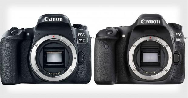 canon eos 77d vs canon eos 80d