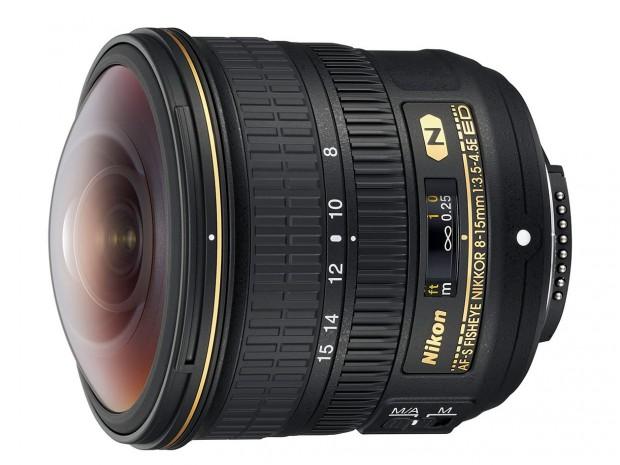 af-s fisheye nikkor 8-15mm f 3.5 4.5 e ed lens