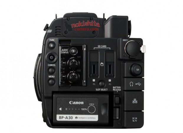 canon eos c200 back