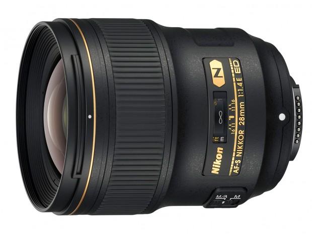 nikon af-s nikkor 28mm f 1.4 e ed lens