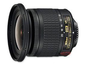 AF-P DX NIKKOR 10-20mm f/4.5-5.6G VR Lens