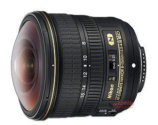 AF-S Fisheye NIKKOR 8-15mm f/3.5-4.5E ED lens
