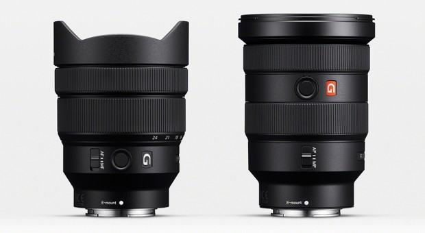 sony fe 12-24 f4 16-35 f 2.8 gm lenses