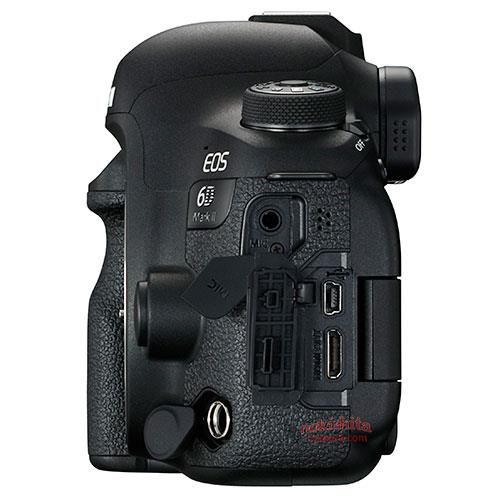 6d mark ii side