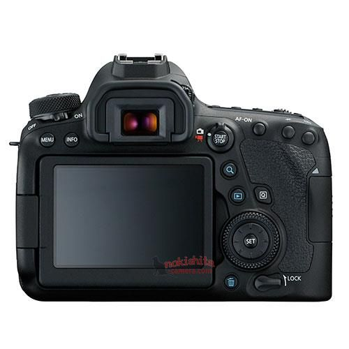 canon 6d mark ii back