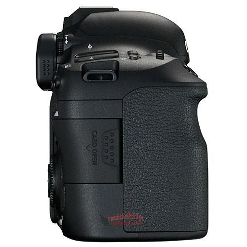 canon 6d mark ii side