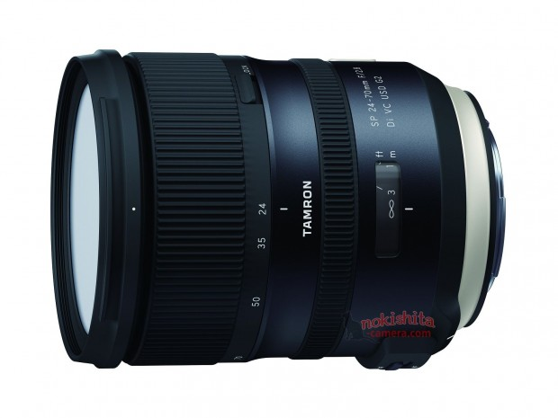tamron sp 24-70mm f 2.8 di vc usd g2 lens