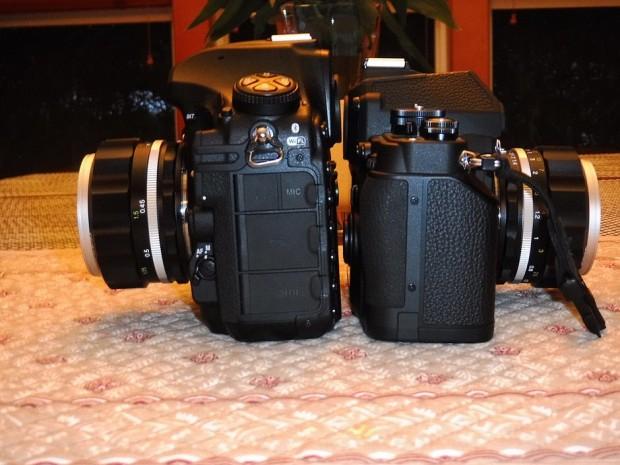 Nikon D850 vs nikon df 1