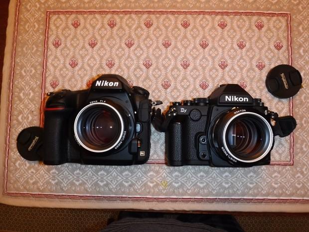 Nikon D850 vs nikon df
