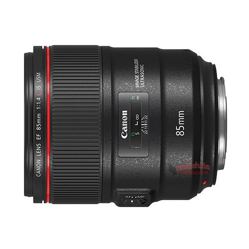 canon ef 85mm f 1.4 l is usm lens