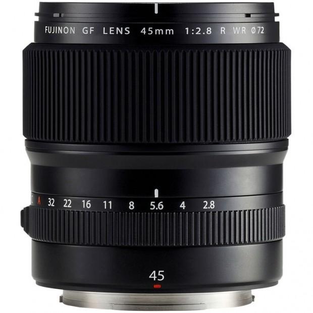 fujifilm gf 45mm f 2.8 r wr lens