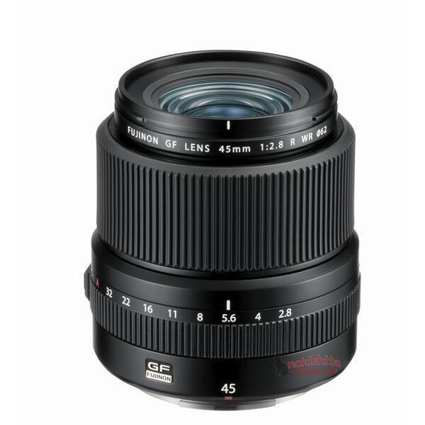 fujinon gf 45mm f 2.8 r wr lens