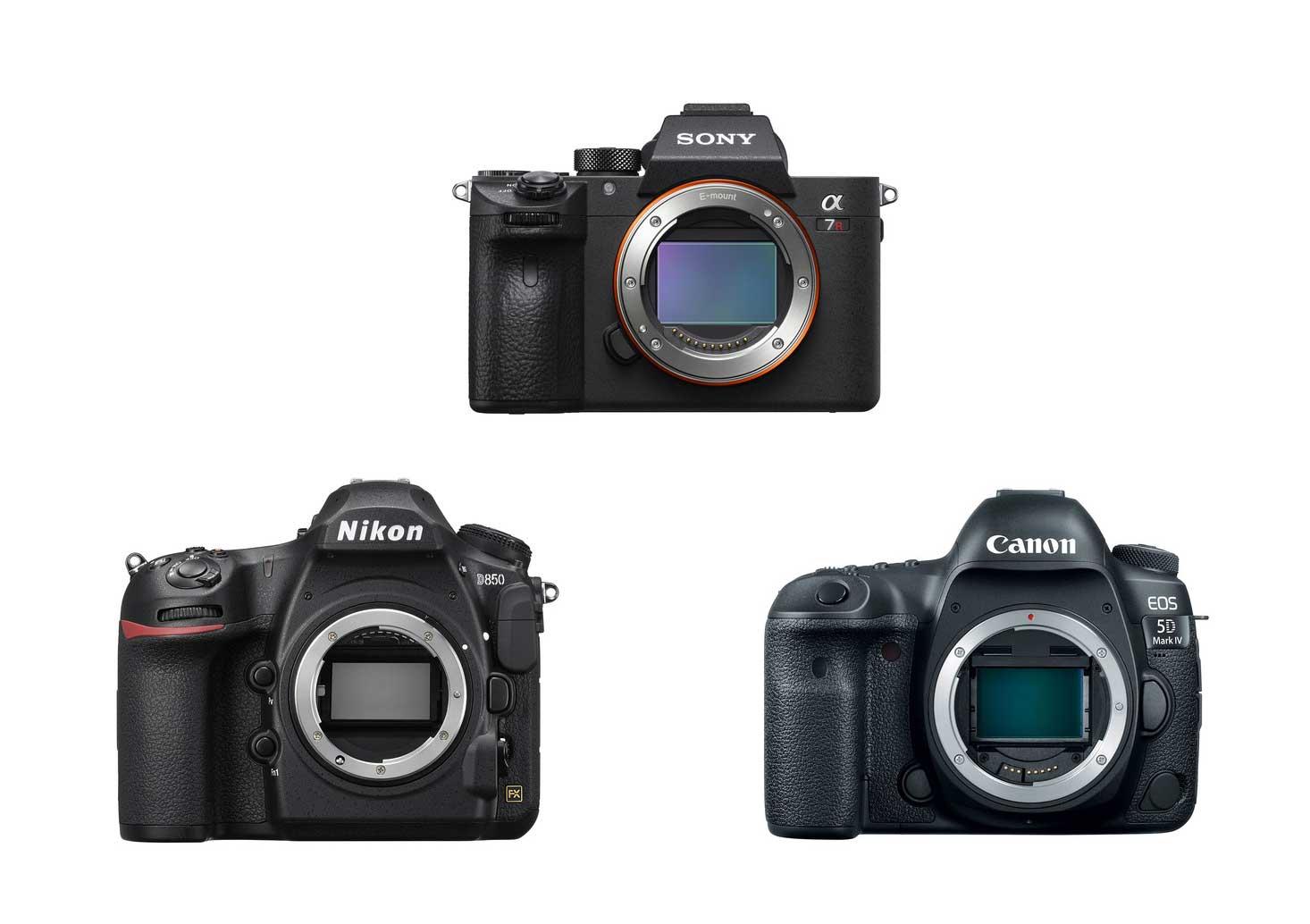 Sony a7R III Vs  Nikon D850 Vs  Canon 5D Mark IV Specs Comparison