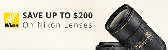 200 Nikon-Nikkor-lens-only-rebates