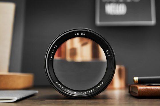 Leica Noctilux-M 75mm f/1 25 ASPH  Lens Announced, Price $12,795