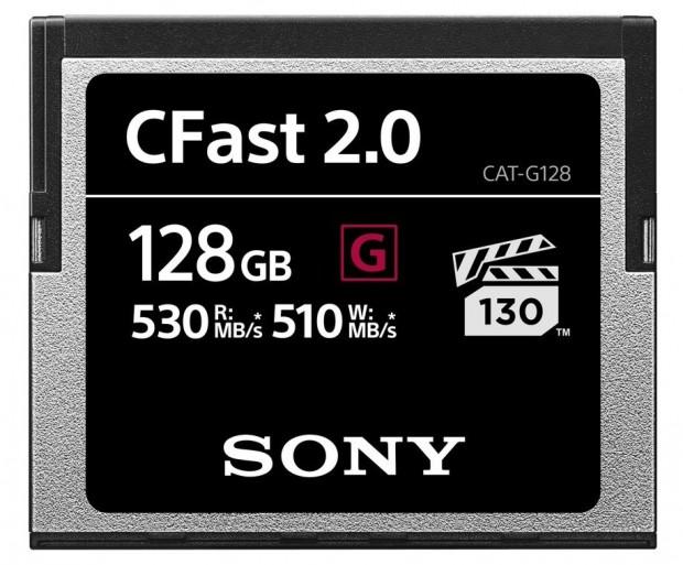 Sony-CFast-2.0-128gb memory-cards