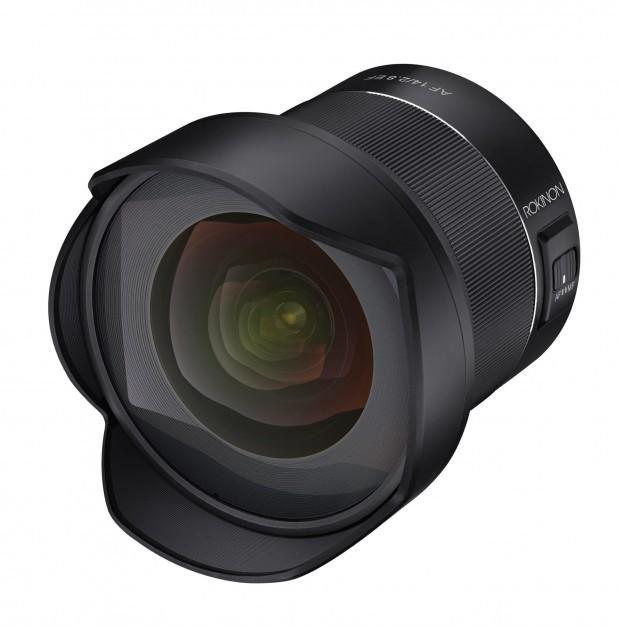 rokinon af 14mm f 2.8 ef lens