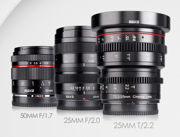 Meike-aps-c -mirrorless-lenses