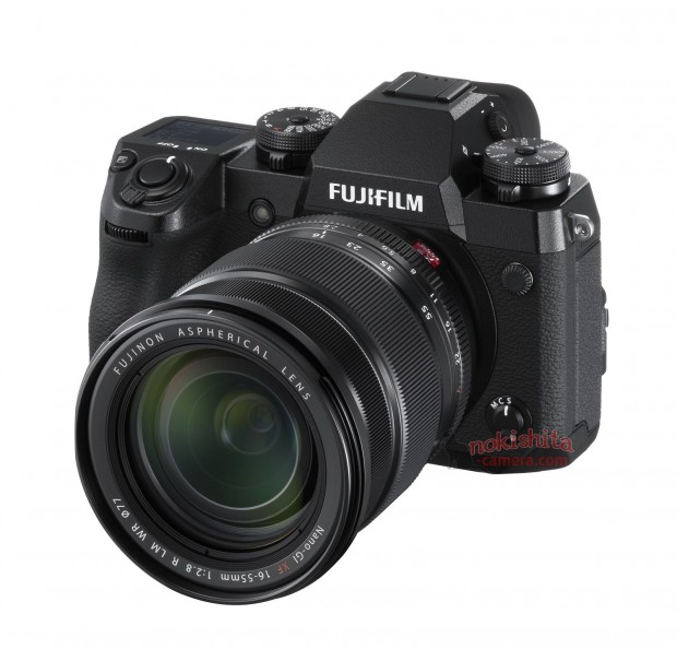 Fujifilm X-H1 Leaked Images, Press Release