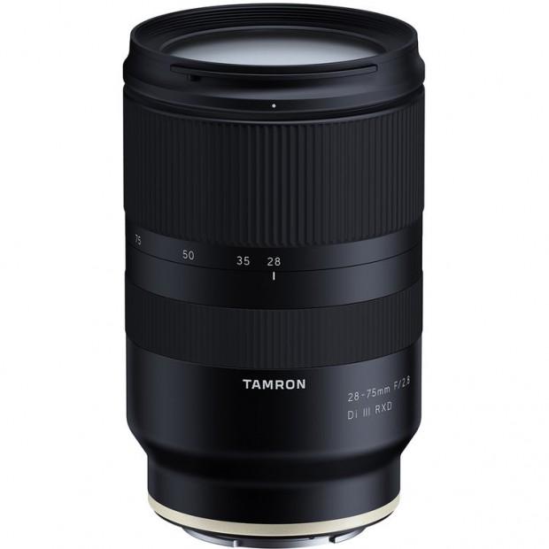 tamron 28-75mm f 2.8 di iii rxd fe lens
