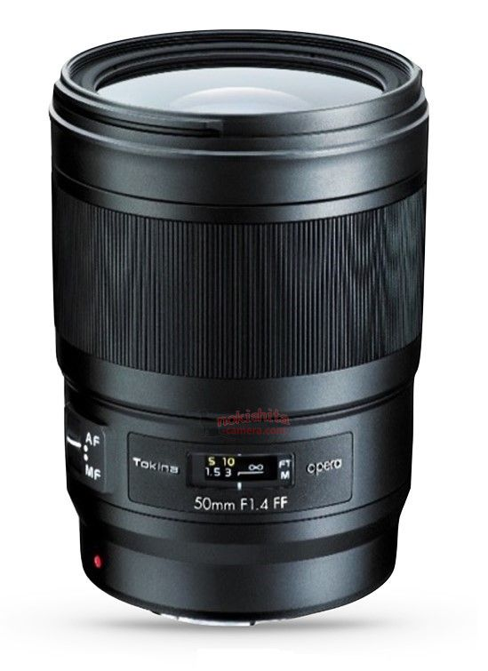 tokina 50mm f 1.4 ff lens
