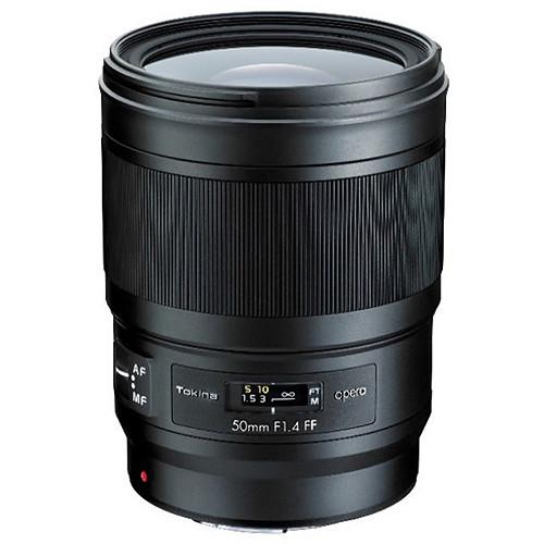 tokina opera 50mm f 1.4 ff lens