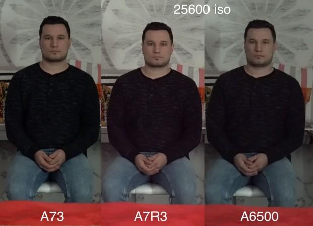 a7 iii vs a7r iii vs a6500 iso 25600