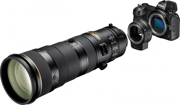 Nikon-Z-7-F-mount-lenses