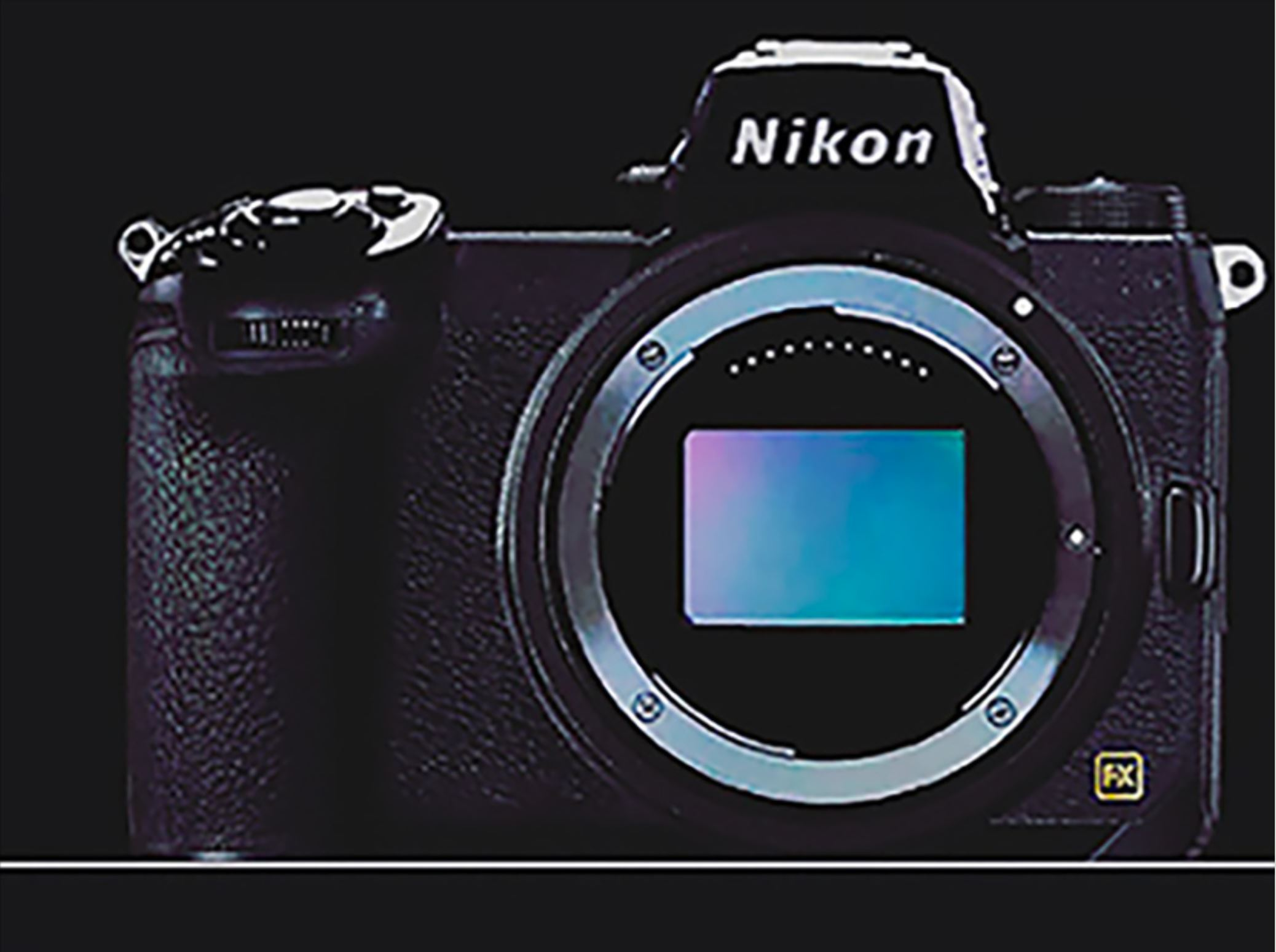 Nikon Full Frame Mirrorless Camera New Teaser Body