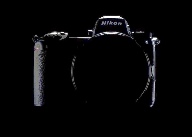 nikon full frame mirrorless camera teaser body