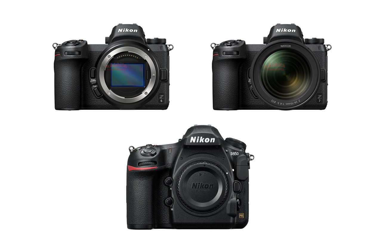 Basic Specs Compared: Nikon Z6 Vs. Nikon Z7 Vs. Nikon D850 – Camera ...