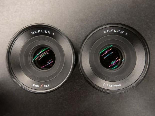 reflex l 40mm f1.8 lens