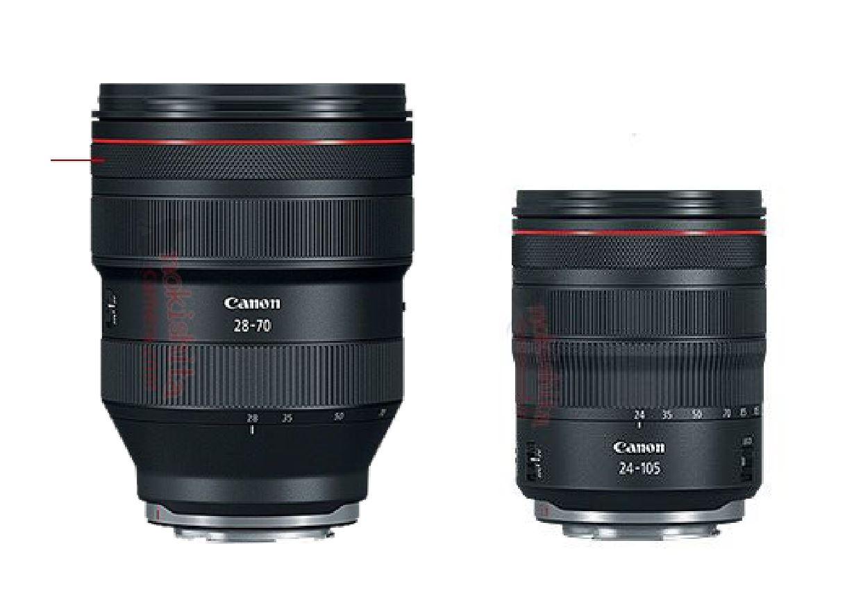 Four New RF Full Frame Mirrorless Lens Specs Leaked ! | Camera News ...