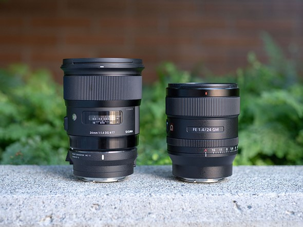Sony FE 24mm f/1.4 GM Vs. Sigma 24mm f/1.4 Art