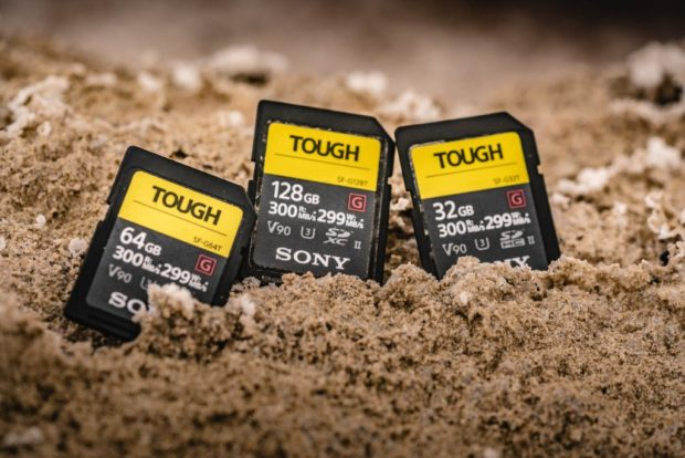 Sony SF-G Tough UHS-II World's Fastest & Toughest SD Cards now Available for Pre-order !