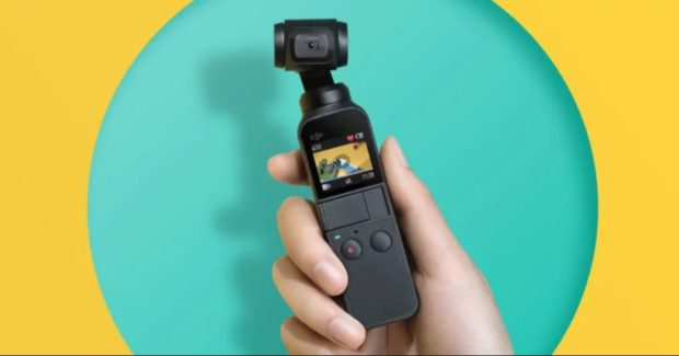 DJI Osmo Pocket Gimbal Announced, Price $349 !