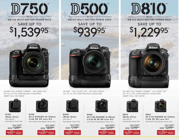 2018 Nikon Black Friday Ads Leaked !